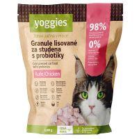 1,2kg Yoggies Granule pro kočky s kuřecím masem, lisované za studena s probiotiky