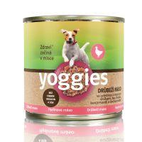 200g Yoggies drůbeží konzerva s ovesnými vločkami a zeleninou