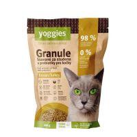 400g Yoggies Granule pro kočky s krocaním masem, lisované za studena s probiotiky
