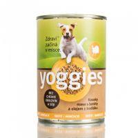 400g Yoggies krůtí konzerva pro psy s batáty a bodlákovým olejem
