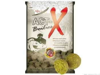 Act-X Boilies - 800 g/20 mm/Játra