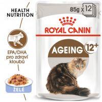 Royal Canin Ageing +12 Jelly kapsička pro staré kočky v želé 12x