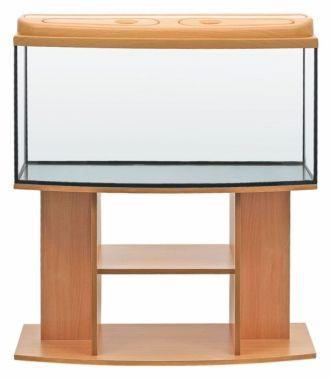 Akvarijní komplet  DIVERSA 100 - 170 l oblý buk, višeň