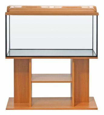 Akvarijní komplet  DIVERSA 100 - 200 l rovný buk, višeň