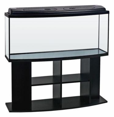 Akvarijní komplet  DIVERSA 120 - 205 l oblý černý