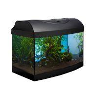 Akvarijní set  DIVERSA 40  černý oblý + 3D pozadí Zdarma !