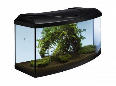 Akvarijní set DIVERSA 80  LED  EXPERT černý oblý
