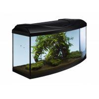 Akvarijní set  LED  EXPERT 105 l  Černý oblý