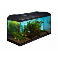 Akvarijní set  LED  EXPERT 126 l  Černý rovný
