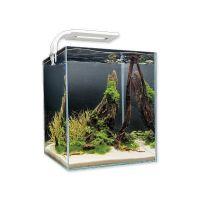 Akvárium set AQUAEL Shrimp Smart bílé 29 x 29 x 35 cm (30l)