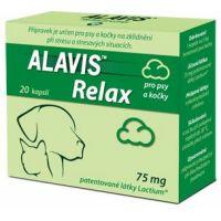 ALAVIS RELAX 20cps/75mg/pes-kočka