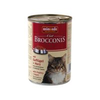 ANIMONDA cat konzerva BROCCONIS 400g kuře/srdce