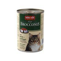 ANIMONDA cat konzerva BROCCONIS 400g zvěřina/drůbež