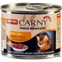 ANIMONDA cat konzerva CARNY huhn/ente 200g