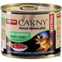 ANIMONDA cat konzerva CARNY KITTEN huhn/kaninchen 200g