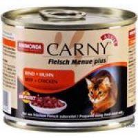 ANIMONDA cat konzerva CARNY rind/huhn 200g