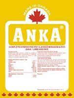 Anka Lamb and Rice 20 kg