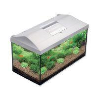 AQUAEL Akvárium LEDDY SET 40 cm, bílá barva, 25 litrů