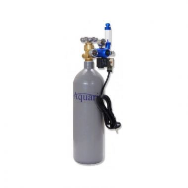 Aquario CO2 set s nočním vypínáním Exclusive - s láhví 8 litrů