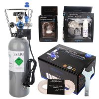 Aquario CO2 set  s nočním vypínáním s láhví 2 litry