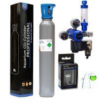 Aquario CO2 set  s nočním vypínáním s láhví 8 litrů