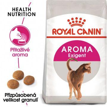 Royal Canin Aromatic Exigent granule pro mlsné kočky 2kg