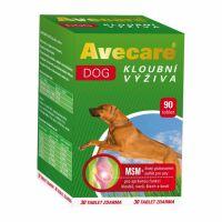 AVECARE DOG kloubní výživa  glukosamin, MSM   2 x 90tbl ( 180 tbl )
