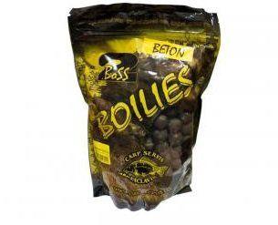 Boilies Boss2 BETON - 1 kg/16 mm/Oliheň