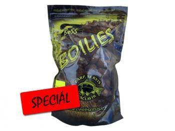 Boilies Boss2 SPECIÁL Rozpálená švestka - 200 g