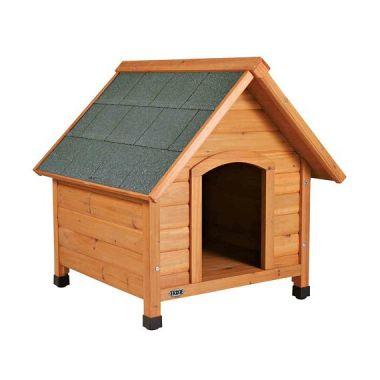 Bouda pro psa, dřevěná, M 77x82x88 cm TRIXIE