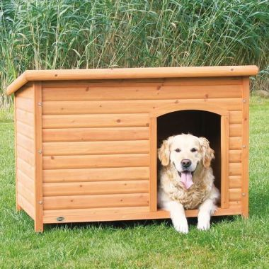 Bouda pro psa, dřevěná, rovná střecha 104x72x68cm TRIXIE