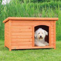 Bouda pro psa, dřevěná, rovná střecha 85x58x58cm TRIXIE