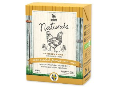 BOZITA Naturals BIG Chicken / Rice - Tetra Pak (370g)