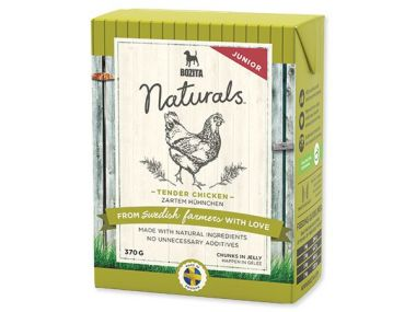 BOZITA Naturals BIG Tender Chicken Junior - Tetra Pak (370g)