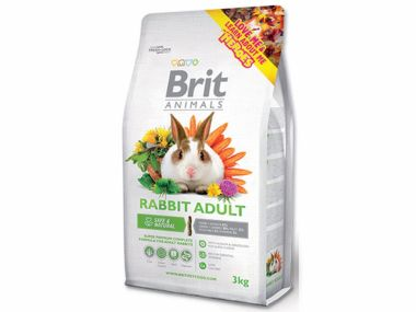 BRIT Animals RABBIT ADULT Complete (3kg)
