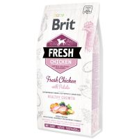BRIT Fresh Chicken with Potato Puppy Healthy Growth (2,5 kg)