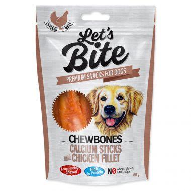 BRIT Let´s Bite Chewbones Calcium Sticks with Chicken Fillet (300g)