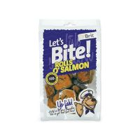 BRIT Lets Bite Rolls o`Salmon (80g)