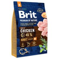 BRIT Premium by Nature Adult M (3kg)