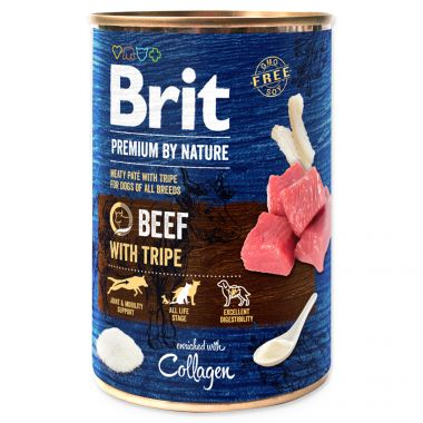 BRIT Premium by Nature Beef with Tripes (400g)