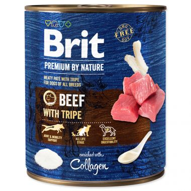 BRIT Premium by Nature Beef with Tripes (800g)