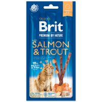 BRIT Premium by Nature Cat Sticks with Salmon & Trout 3ks