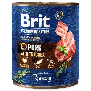 BRIT Premium by Nature Pork with Trachea (800g)