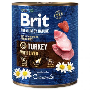 BRIT Premium by Nature Turkey with Liver (800g)