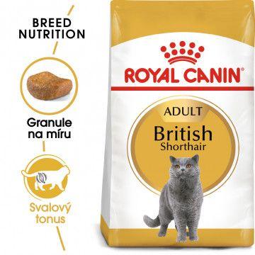Royal Canin British Shorthair Adult granule pro britské krátkosrsté kočky 0,4kg