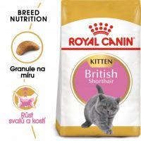 Royal Canin British Shorthair Kitten granule pro britská krátkosrstá koťata 0,4kg