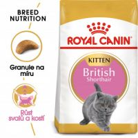 Royal Canin British Shorthair Kitten granule pro britská krátkosrstá koťata 2kg
