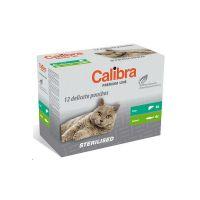 Calibra Cat kapsa Premium Steril. multipack 12x100g