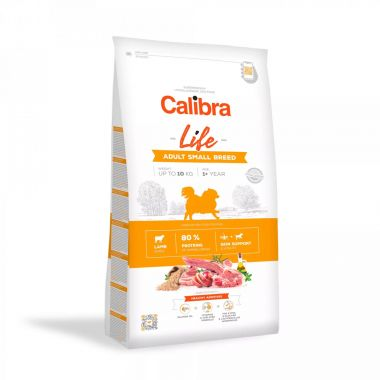 Calibra Dog Life Adult Small Breed Lamb 6kg
