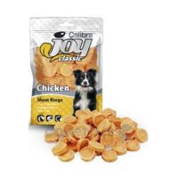Calibra Joy Dog Classic Chicken Rings 80g NEW - 10 balení